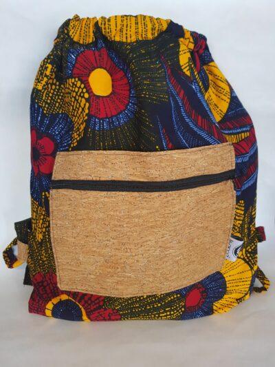 sac à dos wax liege multicolore