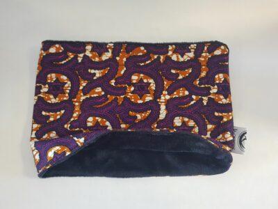 snood enfant wax etoiles violet