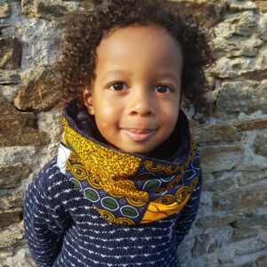 snood enfant wax polaire