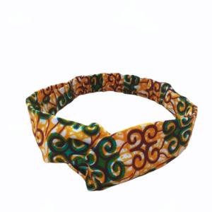 headband bandeau wax orange