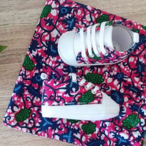 chaussons bebe rose wax